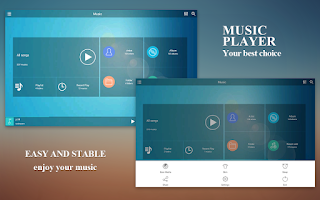 Screenshot of Music Player for Android
