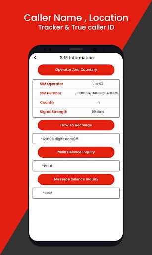 Caller Name , Location Tracker & True Caller ID App Report