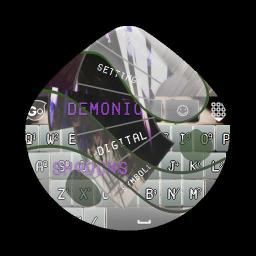 恶魔的阴影 GO Keyboard 個人化 LOGO-玩APPs