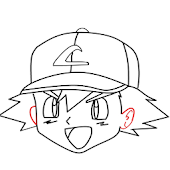 How To Draw Ash from Pokemon
