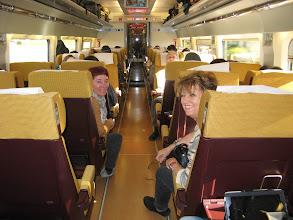 Photo: En el tren AVE