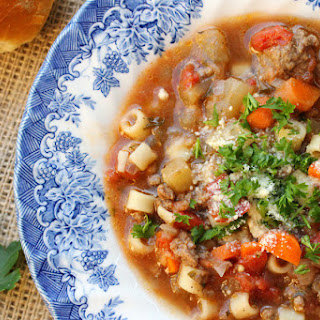 Eggplant Supper Soup.