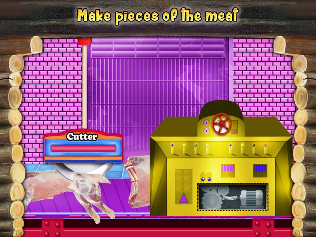 Meat Factory Cooking Chef - Game for kids- screenshot