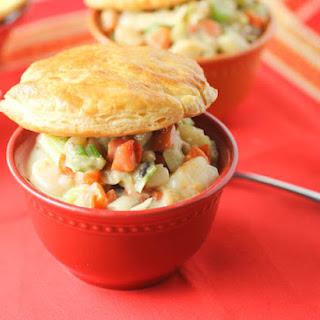 Seafood Pot Pie.