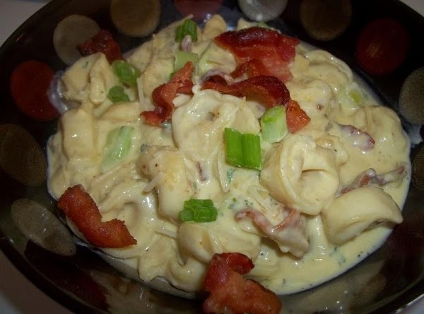 Heat through and serve immediately. I top each serving with the left over bacon,...