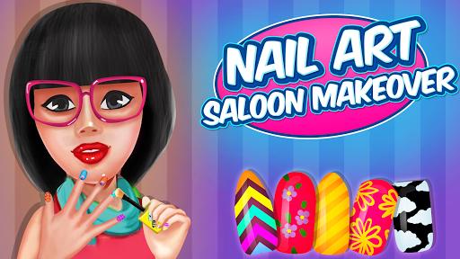 Nail Art Salon Makeover: Fashion Games android2mod screenshots 5