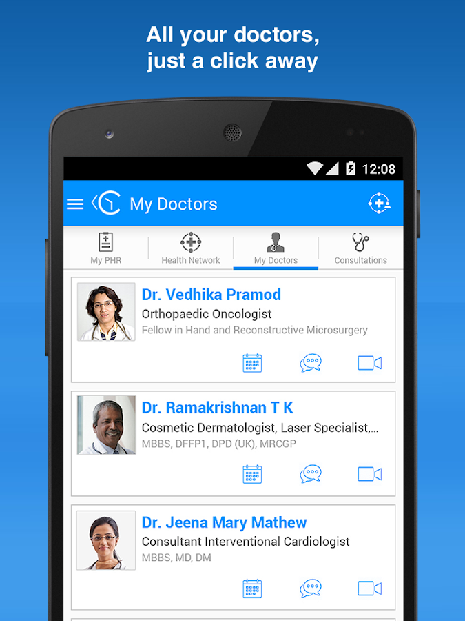 ContinuousCare Health App- screenshot
