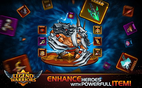 Legend Warriors: Epic Heroes Battle 1.0.36 MOD (Unlimited Money) 5