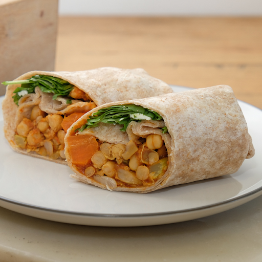 Moroccan Spice Vegetarian Wrap