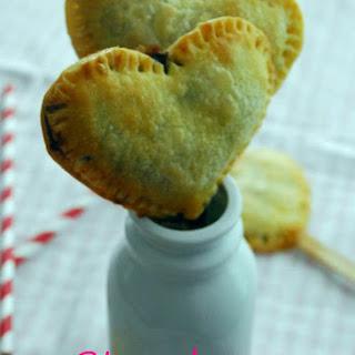 Strawberry Nutella Heart Pie Pops Recipe