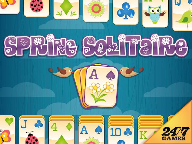 Spring Solitaire & Spider Screenshot
