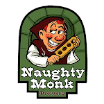 Logo for Naughty Monk Brewery