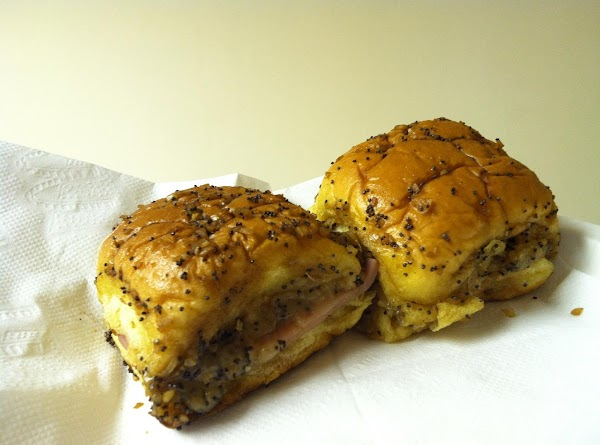 Savory Poppy Seed Ham & Cheese Buscuits Recipe