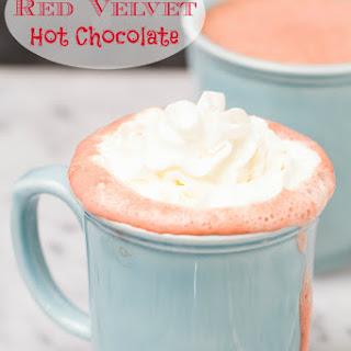 Boozy Red Velvet Hot Chocolate