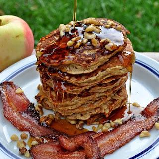 Apple Cinnamon Paleo Pancakes