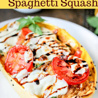 Caprese Stuffed Spaghetti Squash.