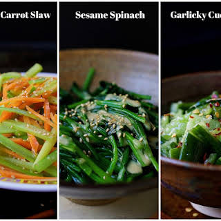 Cold Garlicky Cucumbers - Paleo Asian Side Dishes.