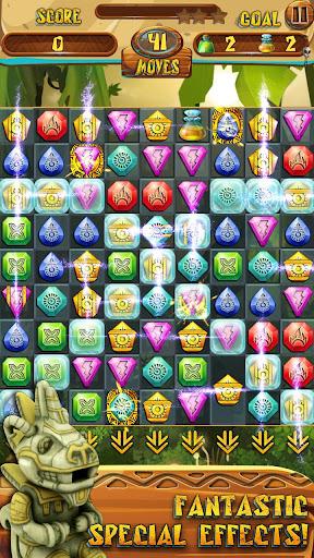 Match 3 Jewels: Aztec Gold  screenshots 3