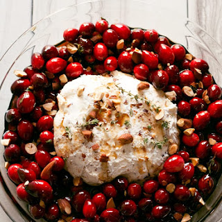 Baked Goat Cheese Roasted Cranberry Appetizer Recipe