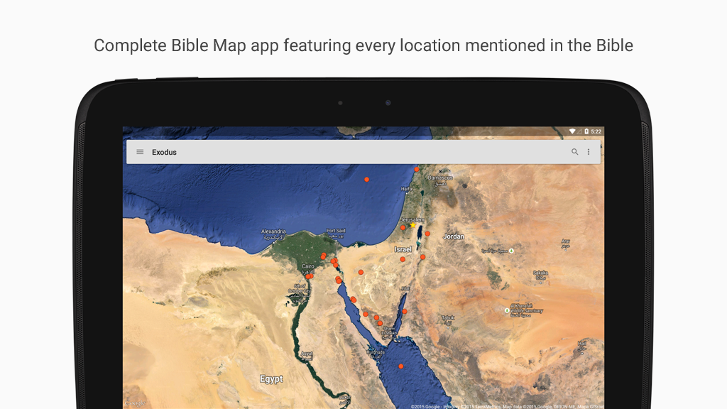 Bible Maps- screenshot
