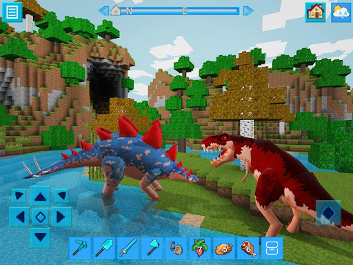 DinoCraft Survive & Craft Pocket Edition  screenshots 1