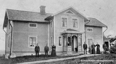 Photo: Västra Gården 1900