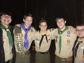 Photo: Pack 744 Crossover Ceremony. Mt. Zion UMC. February 2014.