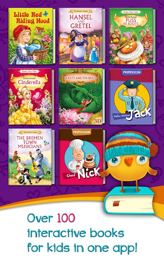 Azbooks - kid's fairy tales, songs, poems & games screenshot 6