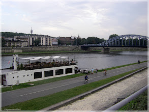 Photo: Ribera del Vistula.Cracovia (Polonia) http://www.viajesenfamilia.it/CRACOVIA.htm