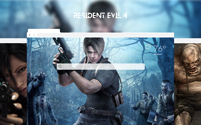 Resident Evil 4 HD Wallpapers New Tab