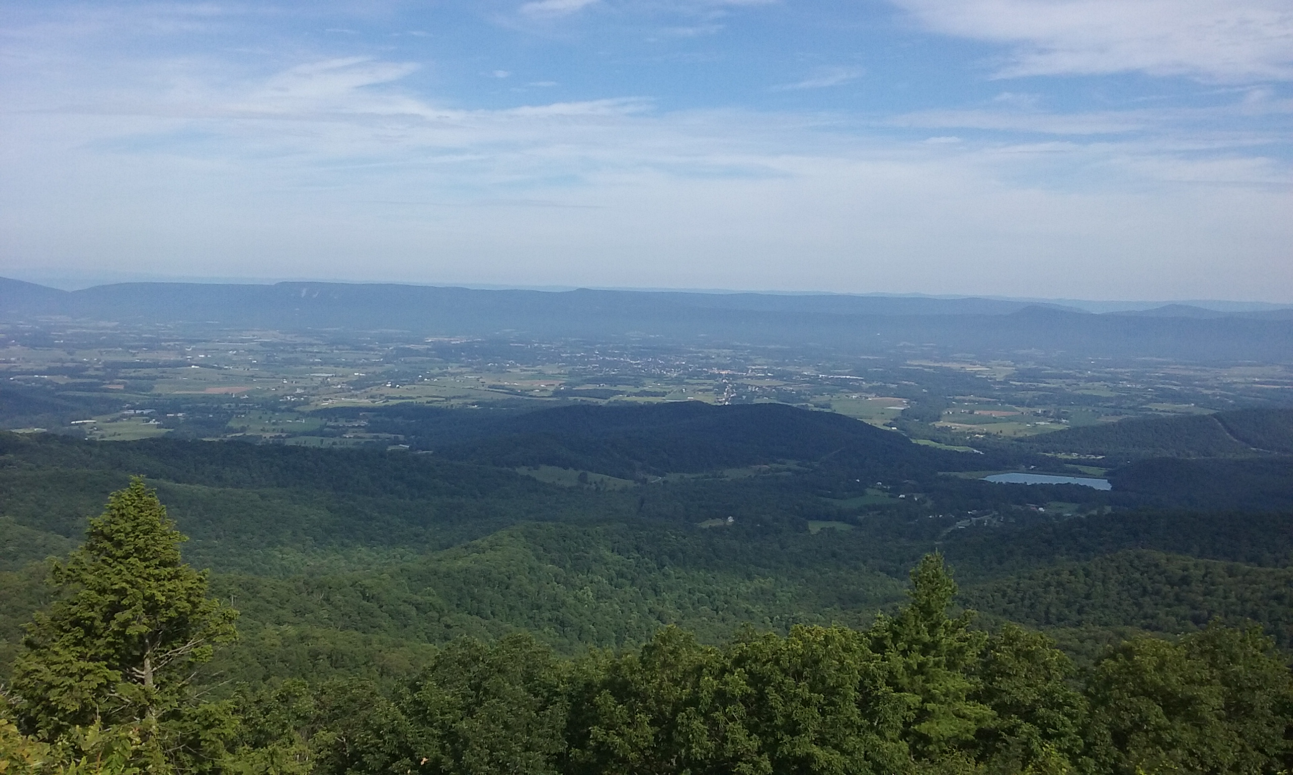 Shenandoah valley skyline drive