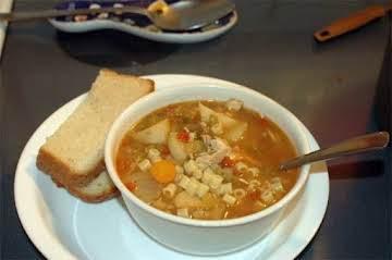 Carrabba's Spicy Sicilian Chicken Soup Recipe  - Food.com