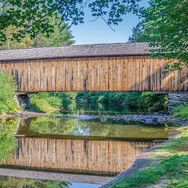 Croydon Branch Bridge by Ron Malec - Buildings & Architecture Bridges & Suspended Structures ( sunapee nh,  )