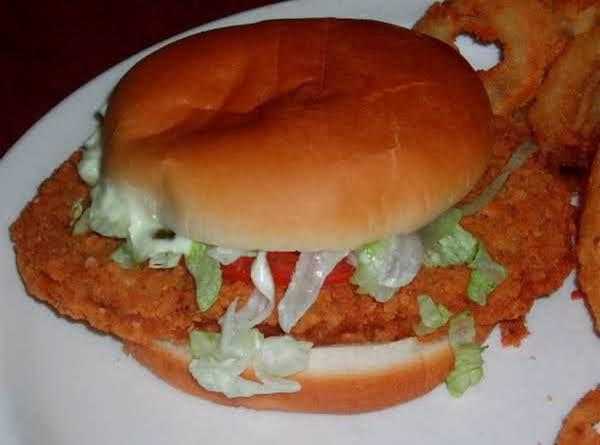 Pork Chop Sandwiches/chicken Fried Pork Chop Dinner