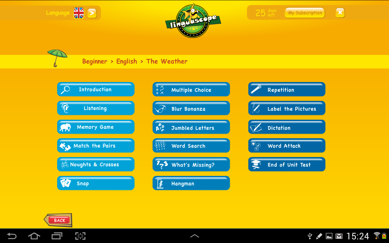 Linguascope Beginners English- screenshot