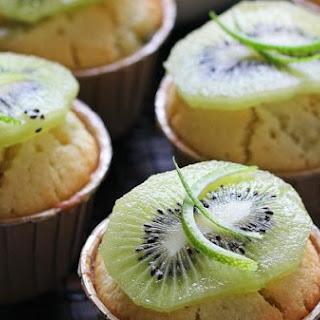 Kiwifruit & Lime Cupcakes