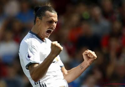 Zlatan élu joueur du mois en Angleterre