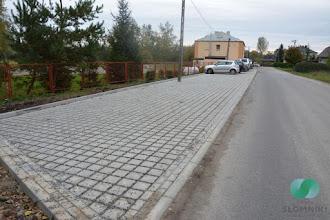 Photo: Budowa parkingu przy szkole w Kacicach