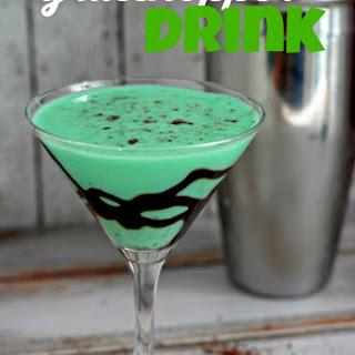 Recipe for Grasshopper Drink.
