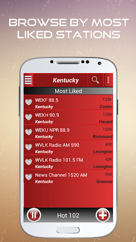 android A2Z Kentucky FM Radio Screenshot 2