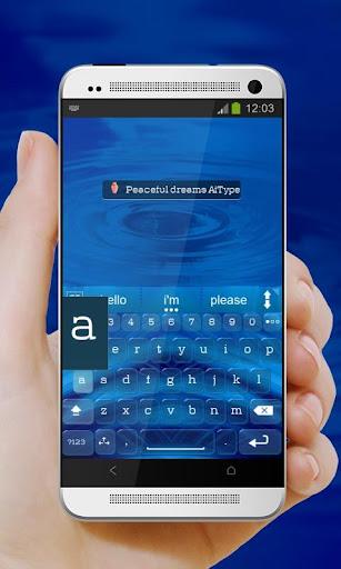 無料个人化Appの平和の夢 AiType テーマ|記事Game