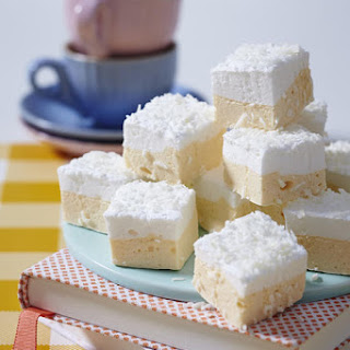 Mango-Lime Marshmallows with Coconut