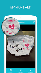 Name on Pics - Name Art - Apps on Google Play