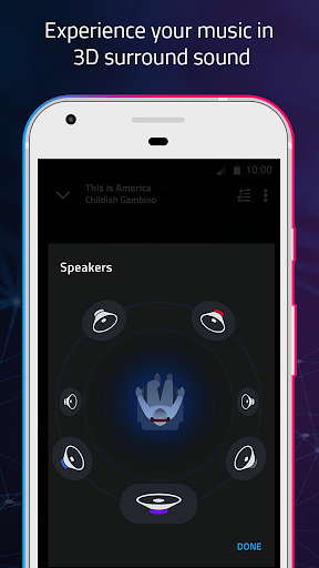 Boom: Music Player with 3D Surround Sound and EQ 1.2.3 screenshots 1
