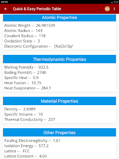 Download periodic table of chemical elements chemistry app for pc download periodic table of chemical elements chemistry app for pc windows and mac apk screenshot 11 urtaz Image collections