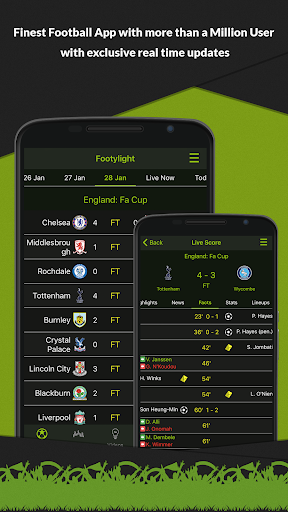 Footylight - Football Highligths & Livescore 5.6.7 screenshots 1