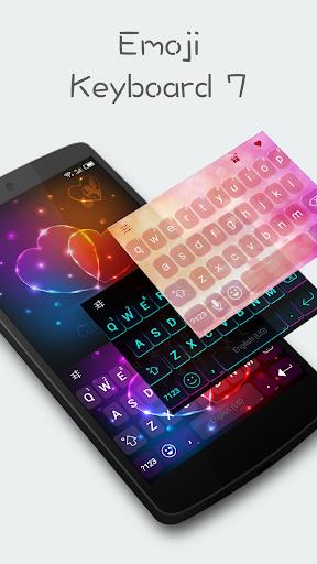 Emoji Keyboard 7 - Cute Sticker, GIF, Emoticons 7.93 screenshots 1