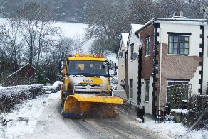 Gritters out with temperatures down to -5C