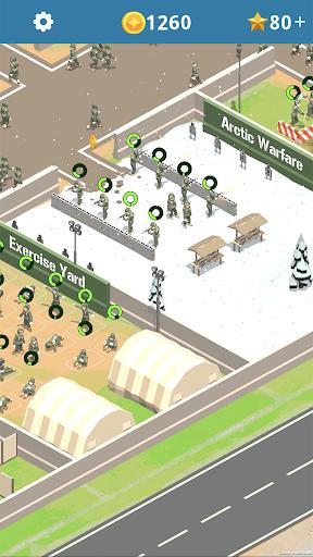 Idle Army Base 1.0.3 screenshots 1