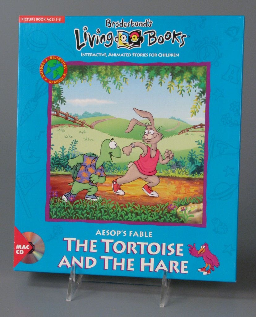 Video Game Macintosh Living Books Aesop S Fable The Tortoise And The Hare Google Arts Culture